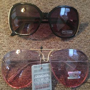 Two pair brand new sunglasses